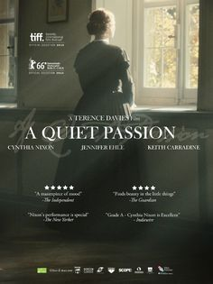 A Quiet Passion 62 Directed by Terence Davies. With Cynthia Nixon, Jennifer Ehle, Duncan Duff, Keith Carradine. The story of American poet Emily Dickinson from her early days as a young schoolgirl to her later years as a reclusive, unrecognized artist. Night Film, Netflix Movies To Watch, Good Movies To Watch, Cynthia Nixon, Period Drama Movies, Critique Film, Bon Film, I Love Cinema, Movies Worth Watching