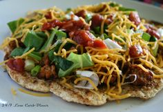 Indian Fry Bread Tacos-- so much flavor, but still gluten free, grain free and no nut flours or eggs.