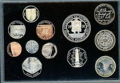 2009 uk  #executive proof set inc.  kew #gardens 50p. cert and box of #issue,  View more on the LINK: 	http://www.zeppy.io/product/gb/2/122215445734/