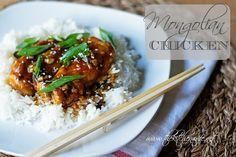 A super simple recipe for DELICIOUS Mongolian Chicken.