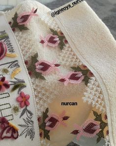 Needle Lace, Filet Crochet, Baby Knitting Patterns, Good Morning Flowers, Towel, Diy, Instagram, Party, Knit Crochet