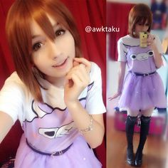 Easy match and perfectly kawaii alpaca t-shirt ^^ model by our lovely customer @awktaku in instagram :D Tokyo Dollie Design Spree Picky