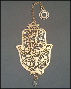 Hamsa Pomegranate Wall Hanging