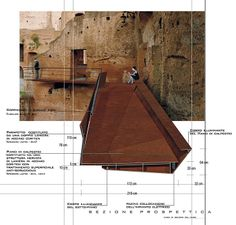 The Perspectival Section (or sectional perspective) is a very particular drawing type which combines the conceptual clarity of the section w. Detail Architecture, Architecture Collage, Architecture Graphics, Architecture Visualization, Architecture Drawings, Landscape Architecture, Landscape Design, Architecture Diagrams, Architecture Portfolio