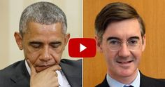 'We WON'T miss him' Jacob Rees-Mogg blasts 'unsuccessful' and 'catastrophic' Barack Obama [VIDEO]