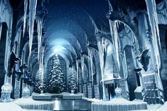 Why Christmas at Hogwarts is better than any other There's a good chance it'll be a white Christmas. It always seems to snow at Hogwarts in December, making it a prime time for snow and snowball.