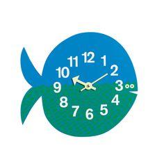 Vitra - Zoo Timers, Fernando the Fish Mehrfarbig T:3 H:25 B:28
