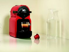 #InissiaCoffee Machine offers all the #Nespresso expertise in a smart little machine that fits perfectly into any interior design. The smart design is compact, lightweight and equipped with an ergonomic handle.