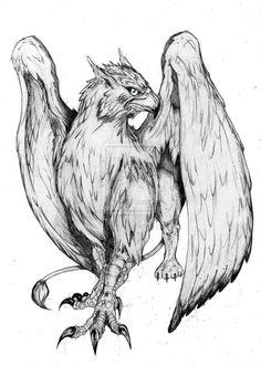 Gryphon tatoo by SaintYak on deviantART