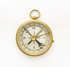 1930s Pocket Compass by Stockert / German by TheCompassCollector