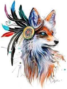 Животные от Pixie Cold рисунок, Животные, тигр, львы, волк, сова, лиса, песец, длиннопост
