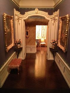 Thorne Miniature Rooms. Amazing detail on the Thorne dollhouse roomboxes in 1/12 scale