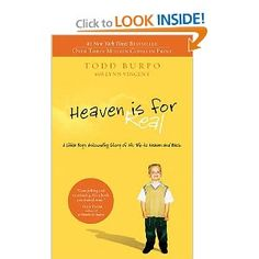 Heaven is for Real, a 3 year old boy who went to Heaven and back. This book will give you the 'warm fuzzies' and leave you encouraged in your faith.