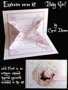 Exploding verse Baby Girl on Craftsuprint - View Now!