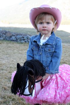 cowgirl outfit and pony