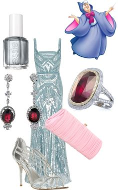 """""""Fairy Godmother (Cinderella)"""" by mollylsanders on Polyvore"""