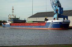 Voormalige CK Pearl  13 november 2015 lossen walsdraad in rollen te West Dock, Goole en kwam van Szczecin, Polen http://koopvaardij.blogspot.nl/2015/11/voormalige-ck-pearl.html