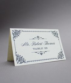 diy vintage place cards from downloadandprint use for a wedding or event