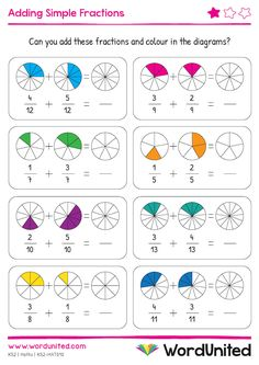 Look at fractions on number lines and write the missing fractions. Each set of fractions on a number line are easy to understand with chunky marking spots. Free Fraction Worksheets, Math Fractions Worksheets, Math Practice Worksheets, Fraction Activities, Math Activities, Math Games, Fraction Games, Montessori Math, Homeschool Math