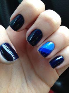 azul geométrico