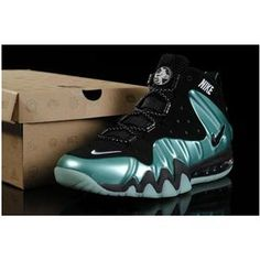 Nike Barkley Posite Max Shoes Green/Black