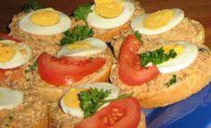 Vajíčkové pomazánky na chlebíčky Salads, Eggs, Meat, Breakfast, Ethnic Recipes, Foods, Cakes, Morning Coffee, Food Food