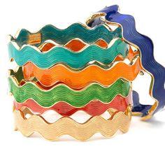 Rainbow waves Bracelets