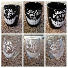 Check out this item in my Etsy shop alice in wonder land cheshire cat mug https://www.etsy.com/listing/223039470/cheshire-cat-coffee-mug-steamless-wine