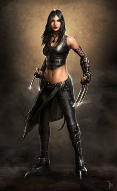 X-23 by ~LeeJJ on deviantART  (not usually an X-23 fan, but this is amazing work)