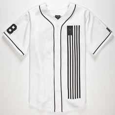 CIVIL Dark Team Mens Baseball Jersey