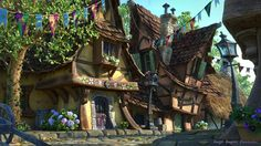 BY: Sergio-Raposo........Fairytale village............ Click on image to enlarge.......