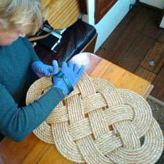 Thelazarette Shared A New Photo On Manila Ropenautical Ropebraided Rugs Seasknots
