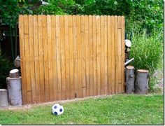 When my boys started playing soccer almost two years ago, a friend of mine suggested the boys use a soccer wall to practice their kicks agai...