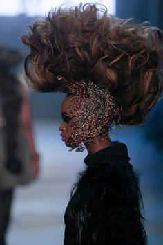 "aclockworkpink: "" L'Oréal Professionnel Hairshow F/W 2013, Amsterdam Fashion Week """