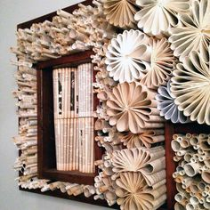 Our Favorite Recycled Book Art