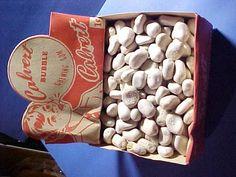 """Rare 1950's Full Unused Calvert """"Rocks""""  Bubble Chewing Gum Display Box, L@@K #calvertgum"""