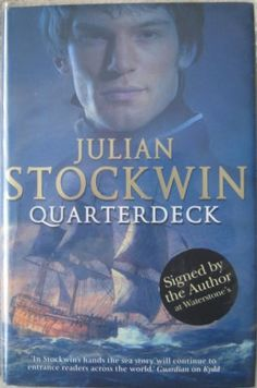 QUARTERDECK Julian Stockwin. The frontier town of Halifax, which is also home to a British prince of the blood, provides a welcome diversion to Kydd's personal dilemmas as he tries to live up to expectation as a fledgling officer. Meanwhile, the young United States is in dispute with revolutionary France, the Quasi War, and Kydd finds himself in the USS Constellation in the heady days of the birth of the American Navy.