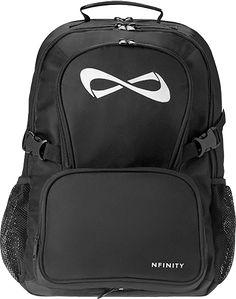 Cute Sports Backpack MICAELA: Nfinity Black Backpack Bag - deal for friends Sweatshirt Outfit, Sweater Hoodie, Black Backpack, Backpack Bags, Sling Backpack, Cheer Backpack, Laptop Backpack, Black Tees, Harry Potter Sweatshirt
