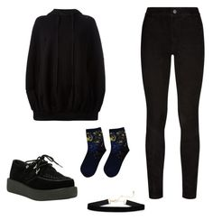 """""""My fav everyday outfit"""" by samgumgee on Polyvore featuring Paige Denim, Unravel and T.U.K."""