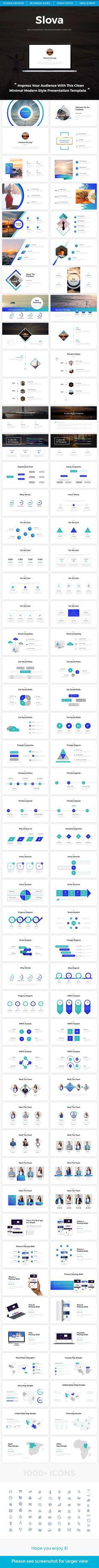 Slova - Business Powerpoint Template - PowerPoint Templates Presentation Templates