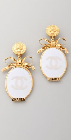 dd2c9aacc3d6 55 Best Vintage chanel earrings images | Chanel jewelry, Vintage ...