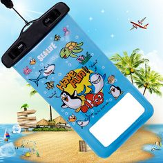 Find More Phone Bags & Cases Information about Essential in summer 2015 New  water proof pouches for iphone 6 cases mobile phone bag for phone 5.5 inch for samsung galaxy s6,High Quality Phone Bags & Cases from WTC on Aliexpress.com
