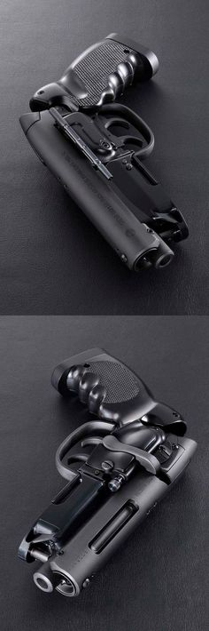Looks like Deckard's gun in Blade Runner.