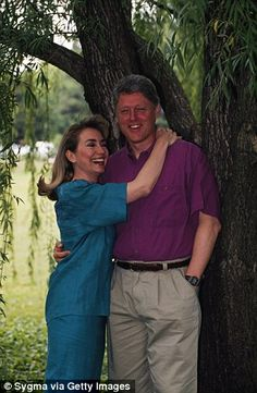 Bill and Hillary Clitnon
