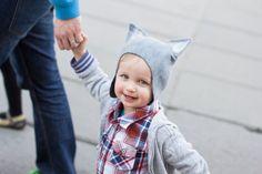 Felt wolf hat wolf hat for kids felt hat felted by DressInFelt Wolf Hat, Funny Hats, Baby Towel, Winter Bride, Animal Hats, Christmas Gifts For Kids, Handmade Felt, Kids Hats, Hat Making