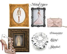 """Metal typen - Fashion Feng Shui"" by cocodesign-1 on Polyvore"