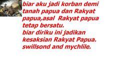 oleh sebabnya rakyat papua barat menyatakan kepada  bahasa melayu indonesia harus dan harus keluar dari tanah leluhur bangasa papua barat. kini saatnya FREE WEST PAPUA.