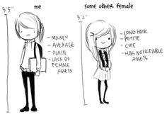 """Except I'm 5'8"""". ><"""