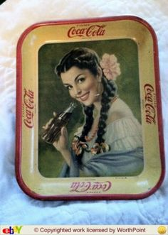 How much is this 1930s Coca-Cola tray worth?