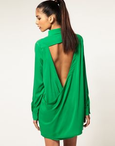 Cute back on dress/blouse.